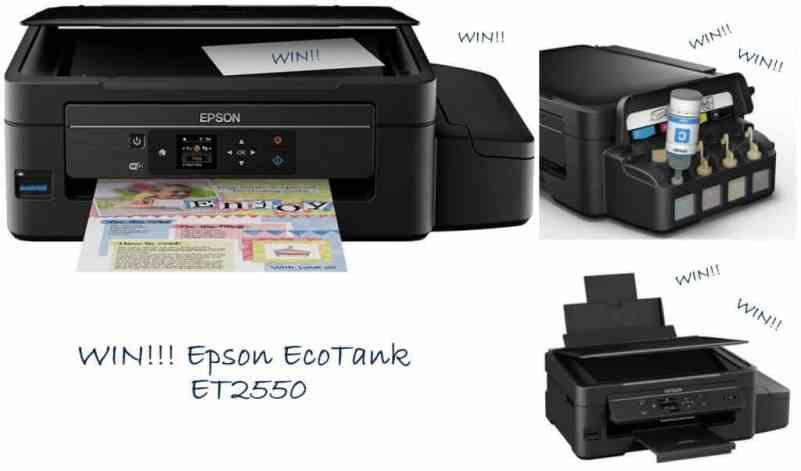 Win an Epson EcoTank 3-in-1 printer RRP £229 - Mummy Matters