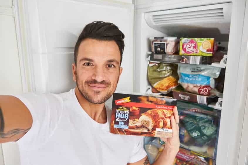Peter Andre Freezie