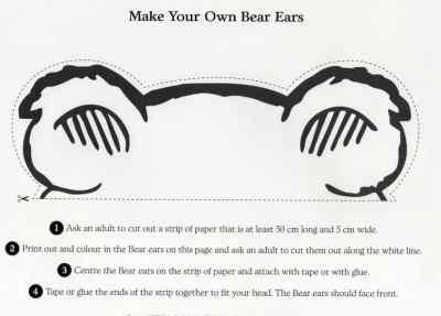 #BearHunt Ears