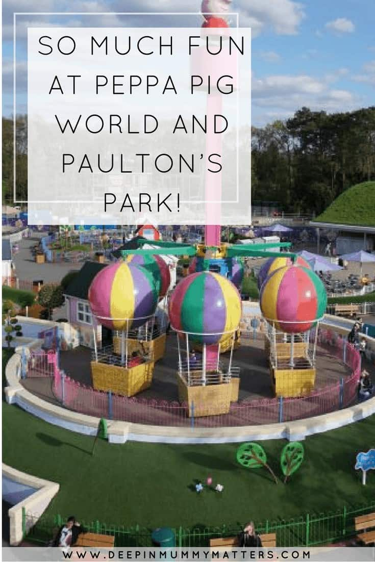 SO MUCH FUN AT PEPPA PIG WORLD AND PAULTON'S PARK!