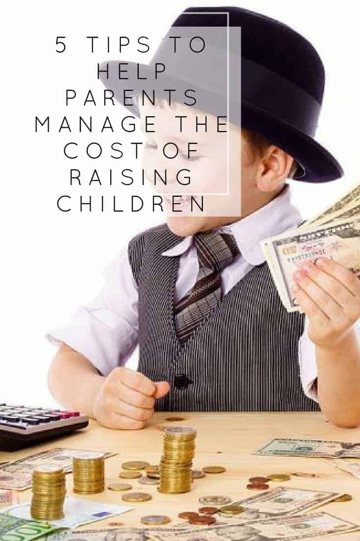 Managing the cost of raising children can be hard. Freedom debt relief has shared 5 tips to managing the cost
