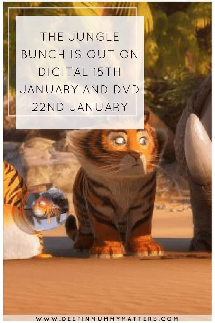 THE JUNGLE BUNCH IS OUT ON DIGITAL 15TH JANUARY AND DVD 22ND JANUARY