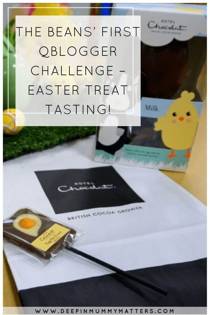 The Beans' first Qblogger challenge - Easter treat tasting!