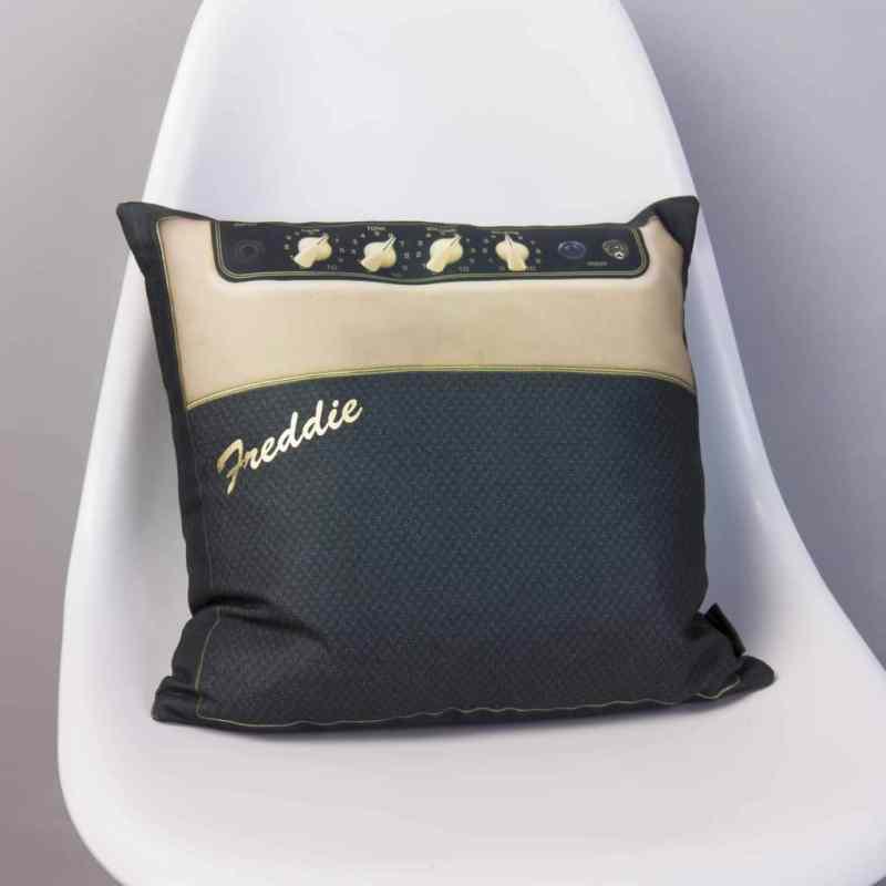 Guitar Music Amp Cushion