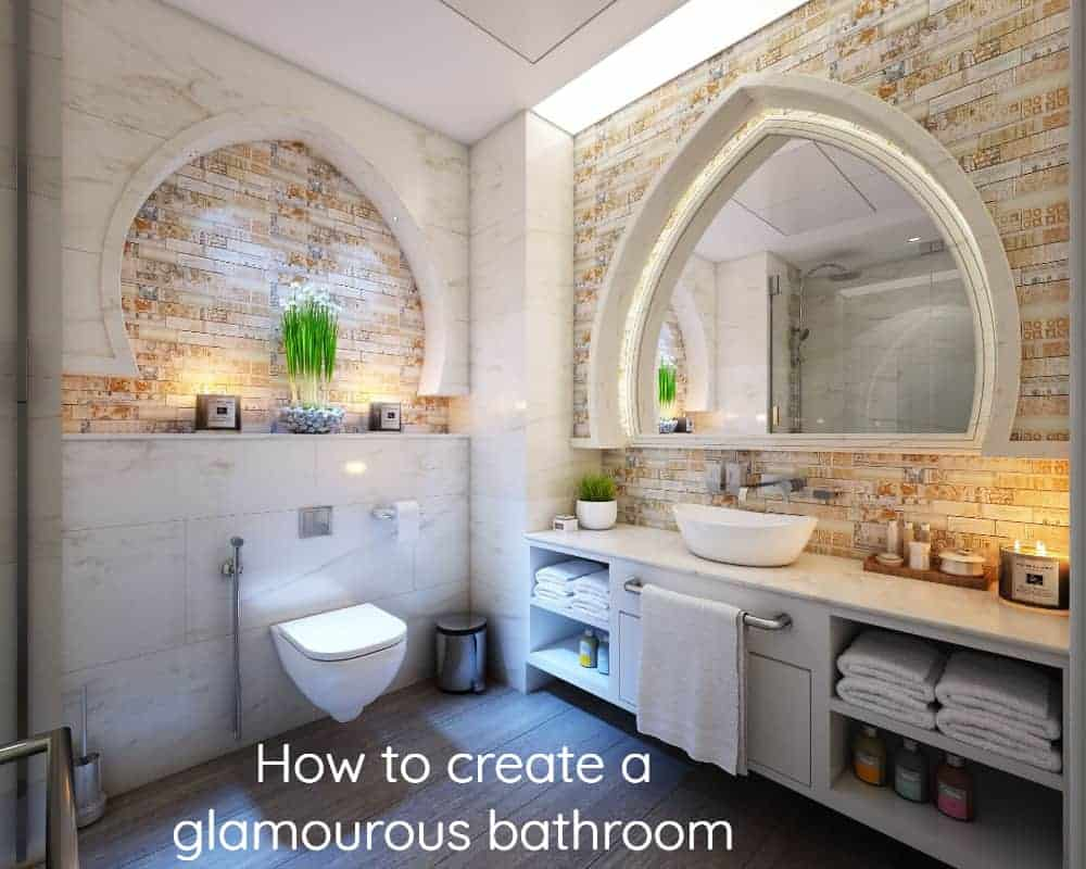 Glamorous Bathroom