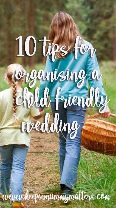 10 tips for organising a child-friendly wedding