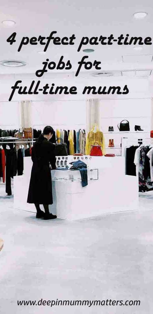 4 perfect part-time jobs for full-time mums