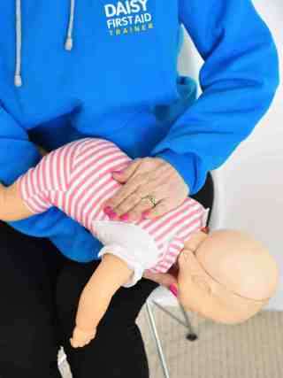What should I do if my child is choking?