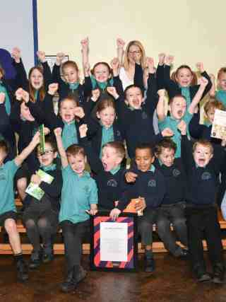 Premier League Writing Stars East of England Winners KS1