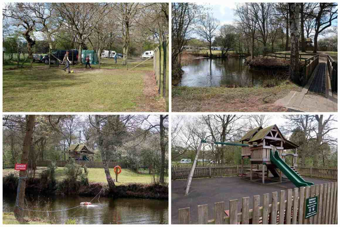 Woodhall Camping and Caravanning Club Site