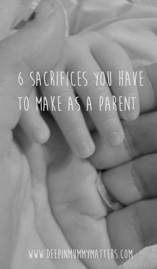 6 sacrifices you will have to make as a parent