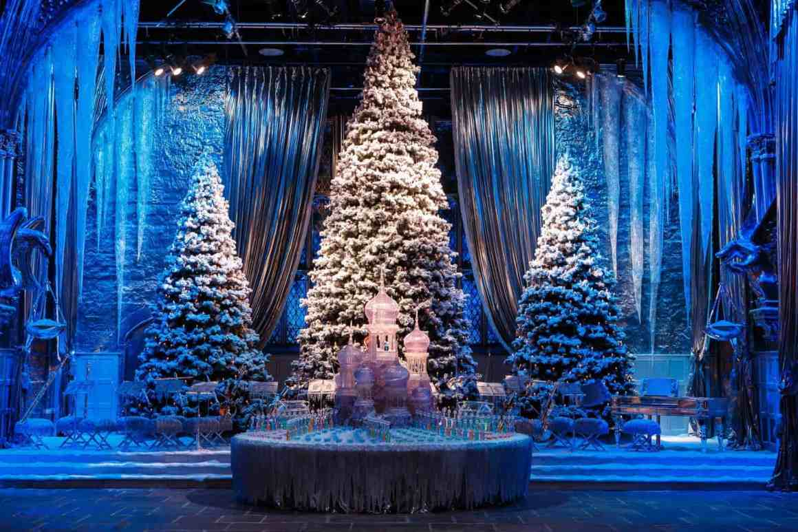Great Hall with Yule Ball stage (7)