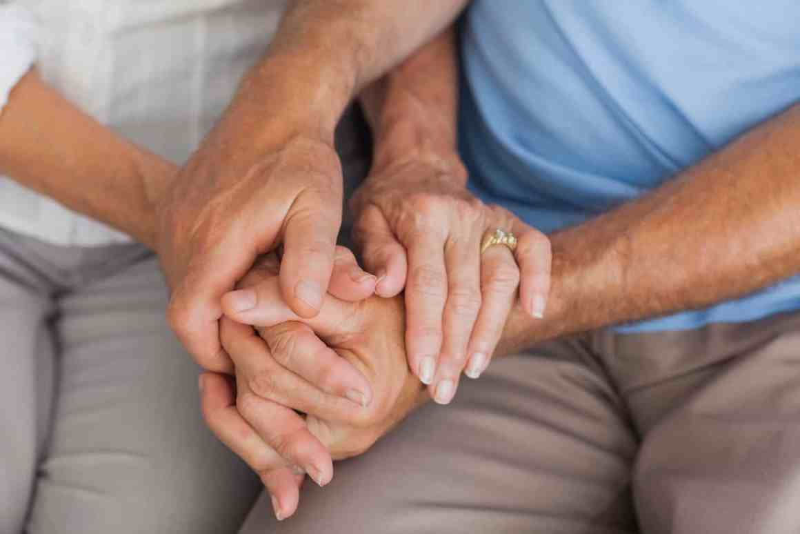 Elderly in nursing home