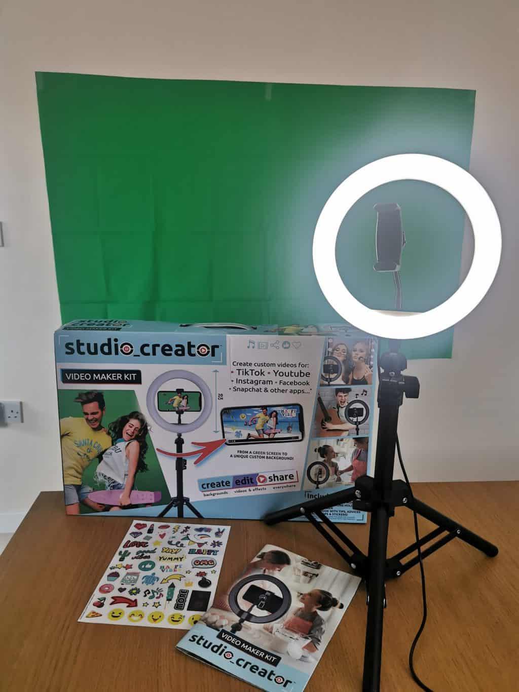 studio creator video maker kit review