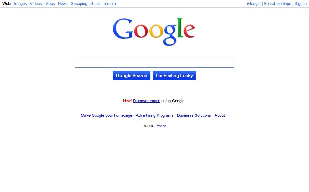 New Google Interface Bubbly like Ask3D but I like it