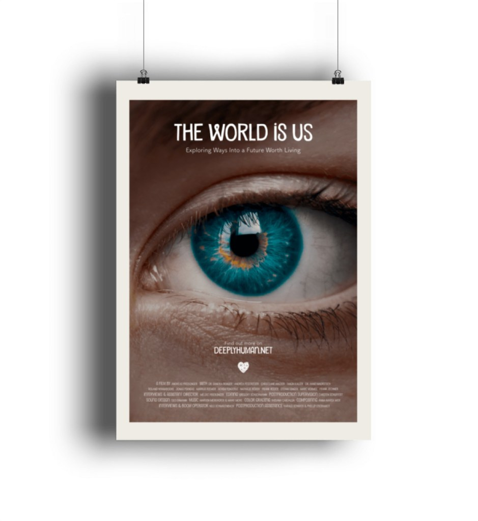 """Englisches Filmplakat """"THE WORLD IS US"""" - Poster-6864"""