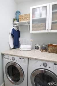 Makeover: Tiny Laundry, Tiny Budget - DeeplySouthernHome