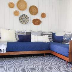 Diy Daybed Sofas Sofa Bed Friheten Plywood Mid Century Modern Build A