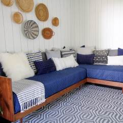 Diy Daybed Sofas Sofa Mart Springfield Illinois Plywood Mid Century Modern Build A Sectional Bed