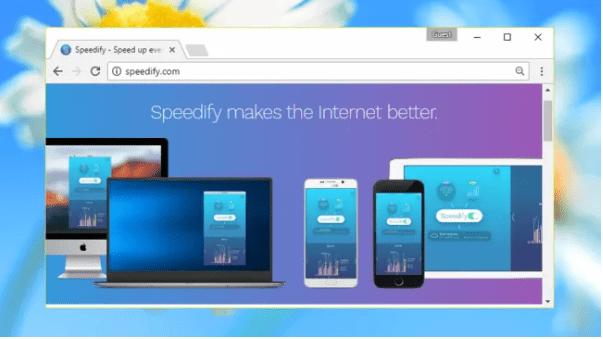 4 - .افضل برنامج VPN مجاني Speedify