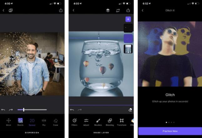 5. Enlight Photofox تطبيق لتعديل الصورعلى iPhone