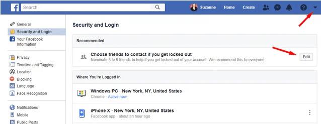 كيفية حذف حساب فيسبوك قديم