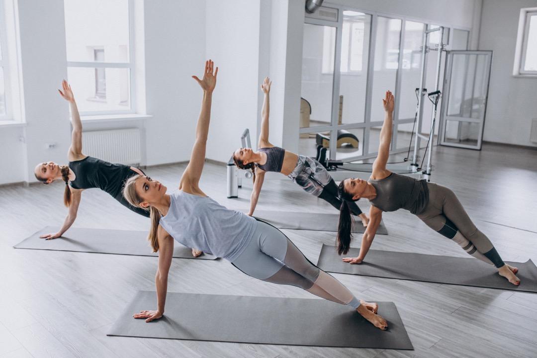 pilates body toning exercise