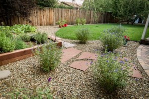Cherry Hill Flagstaff Home backyard remodel