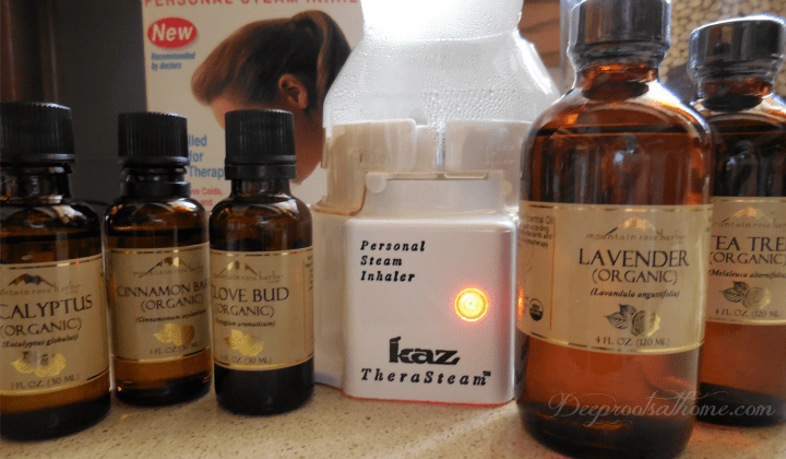 Using Essential Oils As Alternative To Antibiotics - My Recipe, volatile oils, personal inhaler, tea tree, lemon oil, winter cold and flu, increase immune system, medicine cabinet, homemaking, keeper at home, healing, natural medicine, massage therapy, essences, vaporizer, recipe for colds and flu, air purification, anti-viral, anti-bacterial, and antiseptic properties. combat germs, clove oil, cinnamon oil, thyme oil, lemon oil, peppermint oil, pine oil, rosemary oil, gentle essential oils, eucalyptus oil for congestion, ACHS aromatherapy information, sick room, babies and children, oils for sinus infection, Mountain Rose Herbs