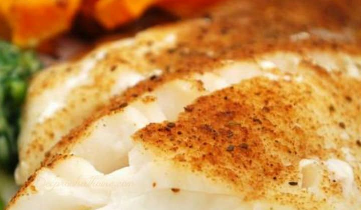 Baked Cod with Dill or Old Bay: Powerhouse Of Nutrition, easy entree, cod fillets, cod steaks, nutritious, high in tryptophan, selenium, protein, vitamin B6, phosphorus, vitamin B12, potassium, vitamin B3, omega-3 fat, nutrients in cod, health benefits, heart healthy, lower triglycerides, control or lower blood pressure, substantial protection against heart attack, cold water fish, deep Arctic waters, fresh dill, dill weed, flavor, lemon dill butter, recipe, tender filets, don't overcook, Old Bay, New england favorite, fish, fish without preservatives, grilled, basting, baked
