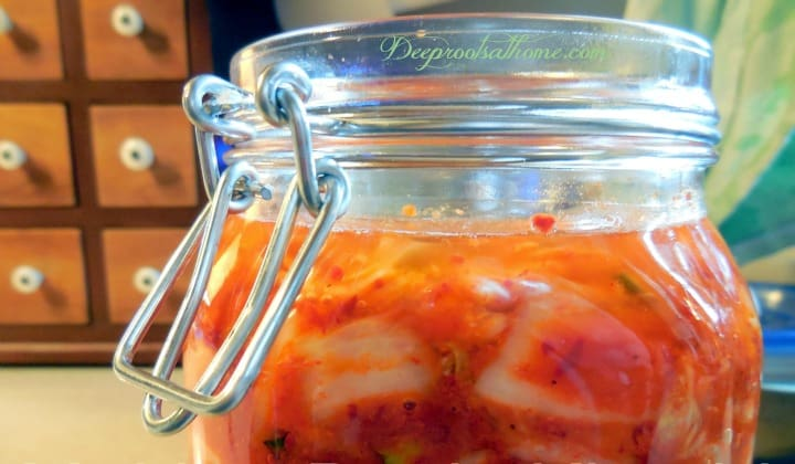 Easy Authentic Basic Fermented Kimchi, vegan, food preservation, gochugaru, lacto-fermentation, healthy gut, good bacteria, kimchi, healing the gut, anticancer, probiotic, Bubbies pickles, sauerkraut, brine, pickling spices, kahm yeast, slow fermentation, finger foods, old-fashioned, the way grandma used to ferment, healthy living, putting up the harvest, sea salt preservation
