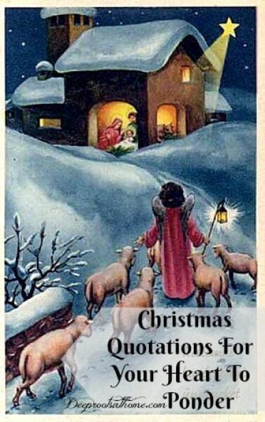 Christmas Quotations To Ponder, vintage Christmas artwork, Calvin Coolidge, Ronald Reagan, Martin Luther, Augustine, shepherds, an angel, Gabriel, Luke 2, Mary of Nazareth, Luke 1, Samuel Johnson, George Whitefield, Corrie Ten Boom, Frederick Buechner, Charles Wesley, Charles Spurgeon, J.I. Packer, Mother Theresa, Billy Graham, Stuart Briscoe, John MacArthur, quotes, sayings, contemporary, history, bible, angels, singing, shepherds in the fields, sheep, donkeys, heavenly hosts, praising God, Bethlehem star, Mary and Joseph, baby in a manger, The Magnificat