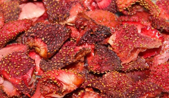 Oven Dried Strawberries Delicious To The Moon And Back