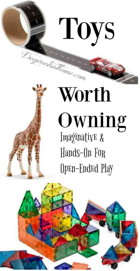 Toys Worth Owning: Curiosity-Sparking, Hands-On For Open-Ended Play, love, home, children, imagination, desire, investigative play, open-ended toys, friends, stimulate, creativity, memories, playtime, recess, early childhood,Early Childhood Cognition Lab, Department of Brain and Cognitive Sciences,Massachusetts Institute of Technology, MIT, physical environment, perceptions, language development, self-control, awareness, spacial orientation, self-confidence, communication, bored, feel entitled, little patience, real friends,building farms, animals, toy soldiers, castles, racing cars, mats, dress-up, accessories, home-made forts,building blocks, talking animal figures, memorable objects,flower toy, little homemakers, favorites, holiday shopping, gifts, building, construction, magnetic tiles, building set, wooden blocks, Melissa & Doug, Fort Magic, Marble run, Legos, yellow submarine, kiddie pool, garage sales, wooden train set, Thomas the Tank Engine, Engineering building set, train cars, space shuttle, cardboard building blocks, food and kitchen play, pirate ship, Lincoln Logs, Gears, Fischertechnik, wooden 4 food group set, usable dishes, play pots and pans, Let's play house broom, mop, dusting set, cardboard boxes, race courses, puppet theatre, plastic Army men, dolls, puppets, tents, silks, props, old costumes, Etch-A-Sketch, sewing machine, hammock, outside toys, outdoors, Star, Constellation, H.A. Rey, Curious George, monocular telescope, sprinkler, wagon, hatchet, hammer, bubble wands, butterfly wings, moth wings, Magic Cabin store, growing old, staying young, quote, George Bernard Shaw