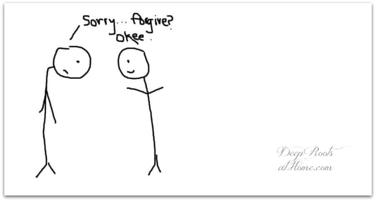Teach Your Kids A Better Way to Say Sorry. You Won't Be Sorry!
