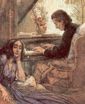 Sand and Chopin: 'Your playing makes me live over again every pain that has ever wrung my heart; and every joy, too, that I have ever known is mine again.'