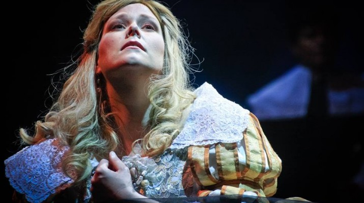 Jessica Pratt in the title role in Lucia di Lammermoor: 'I certainly feel like I have lived many lives through the characters I have played on stage.'