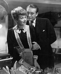Lucy with George Sanders