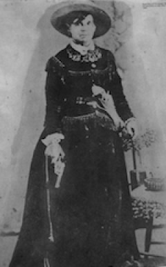 Myra Mayabelle 'Belle' Starr, the Bandit Queen