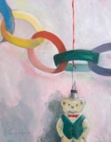 Caroline Payne - Hanging Teddy