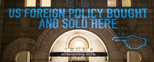 Trump Hotel Projection