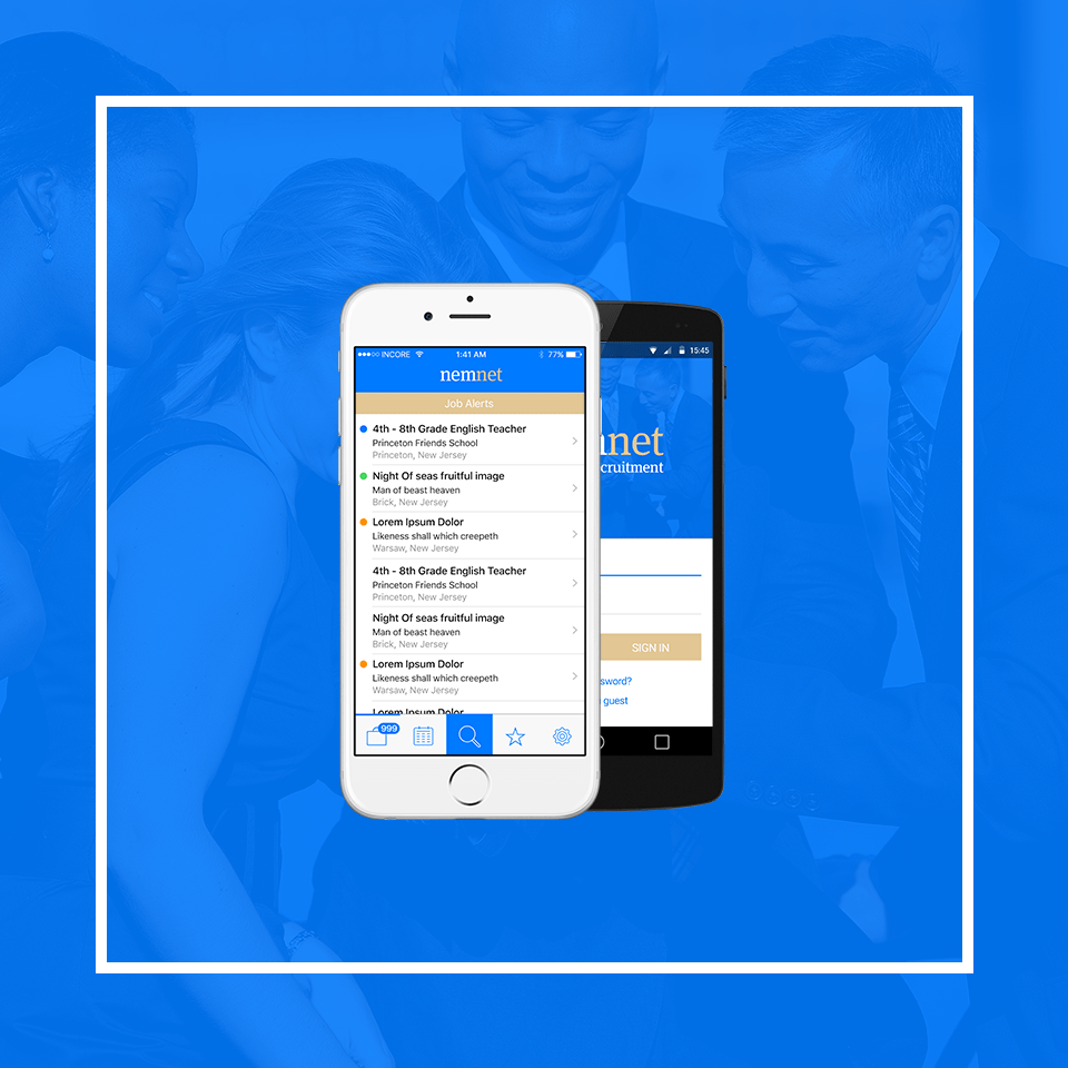 Minority Recruitment App