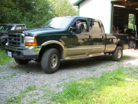 2000 F350 TurboDiesel Crew Long-Bed Roof Rack Installation ...