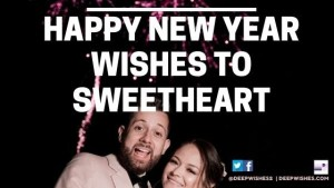 Happy New Year Wishes to Sweetheart
