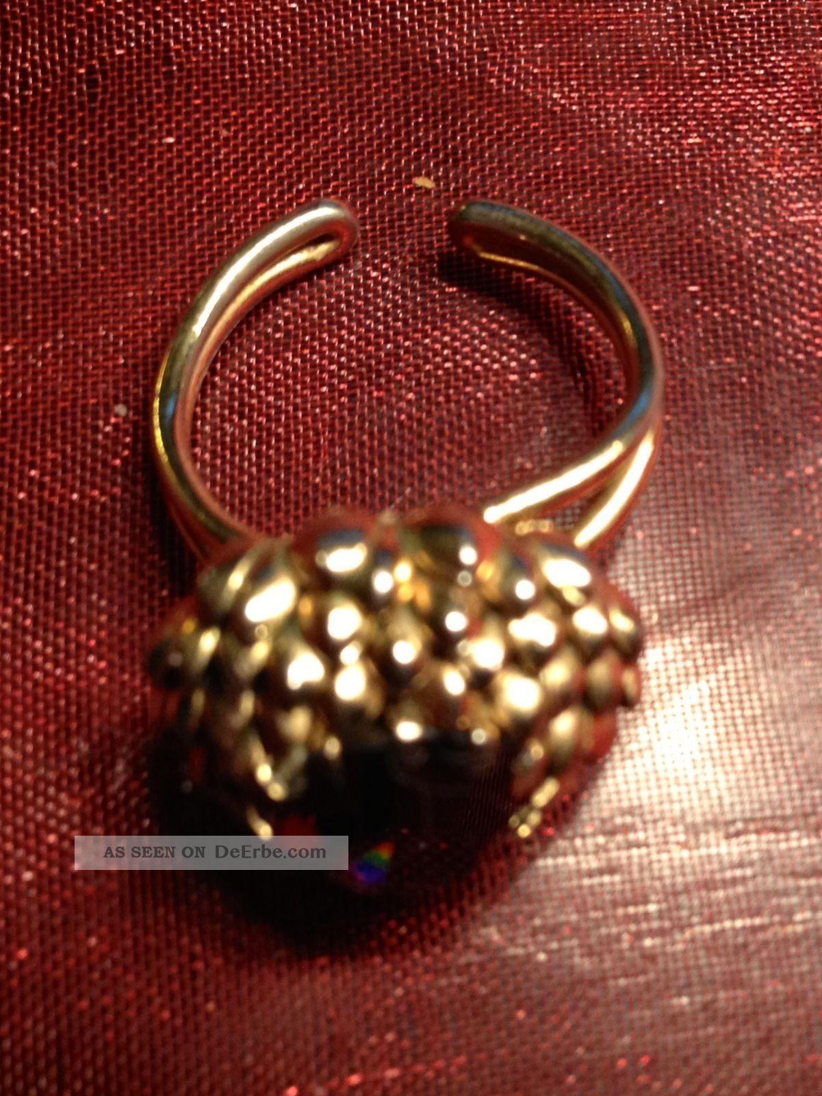 Konvolut 6 Ringe Groteils Silber