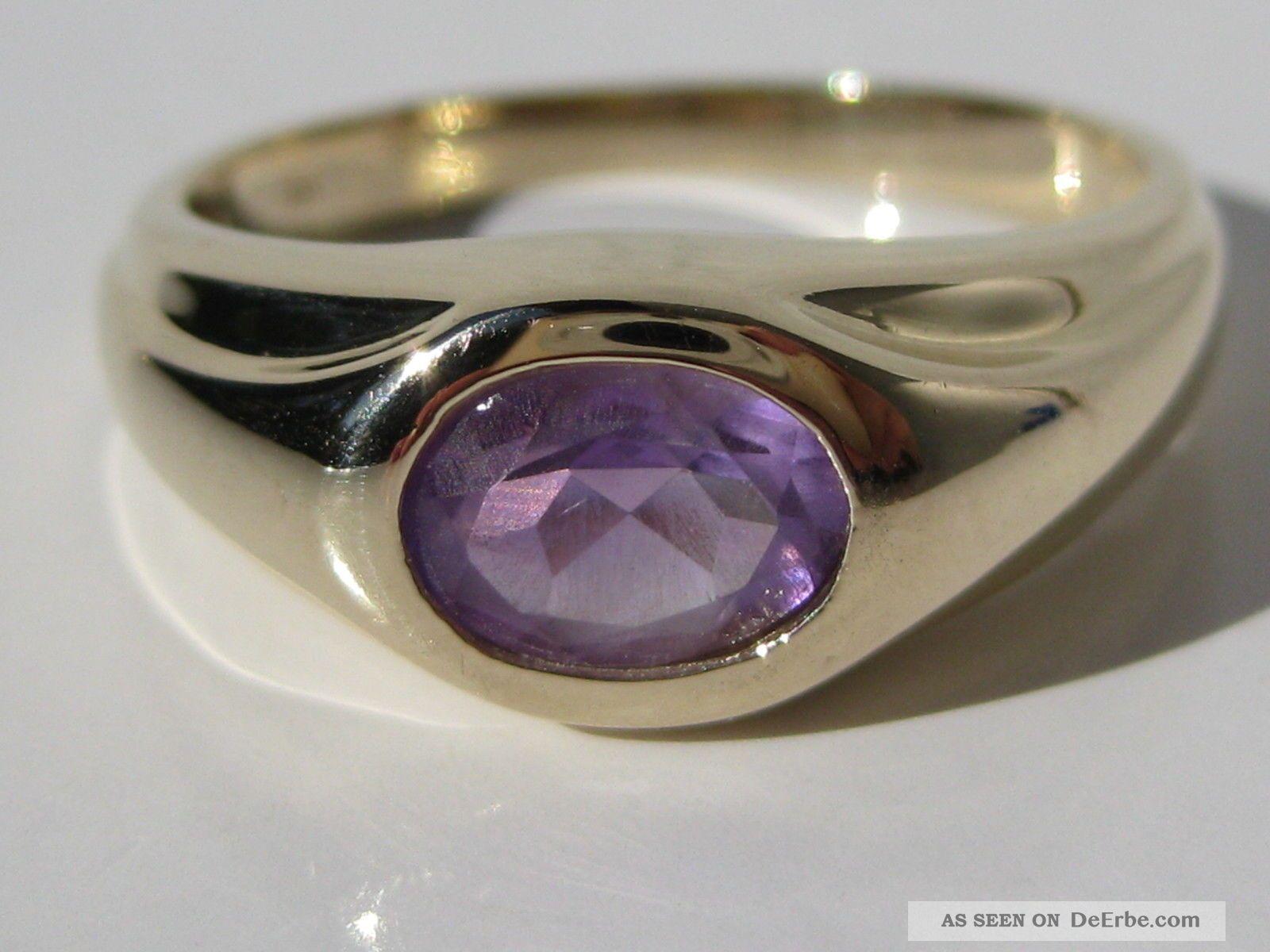Ringe mit violettem stein  Beliebtester Schmuck
