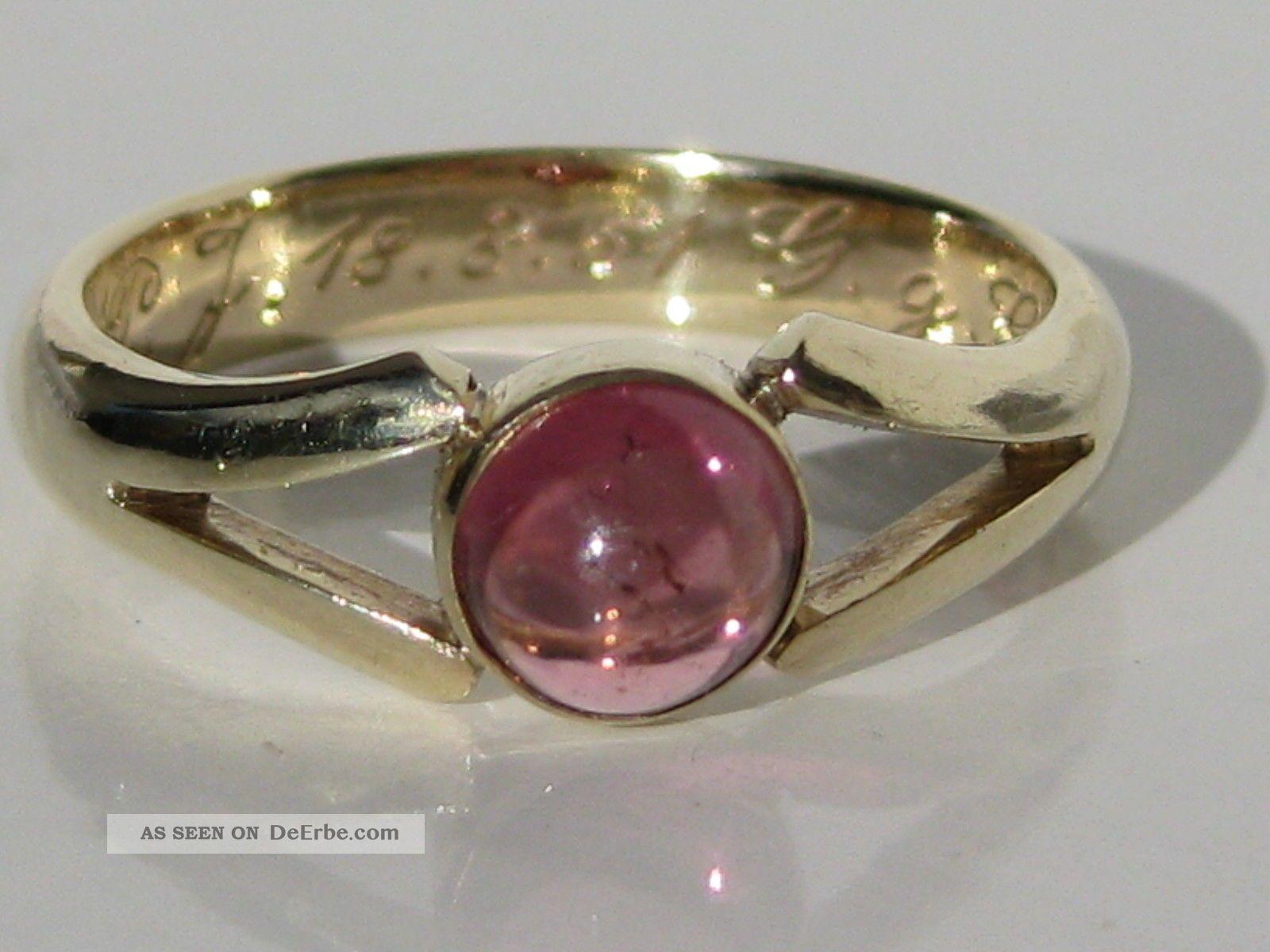 Ringe gold mit stein  Modeschmuck