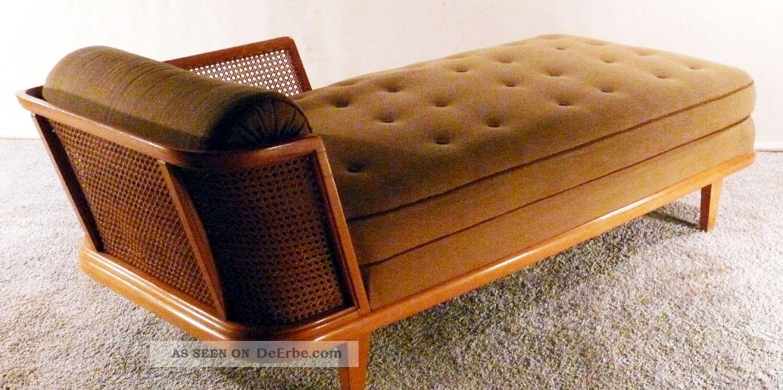 30er Recamiere Art Deco Daybed Chaiselonge Canape Sofa