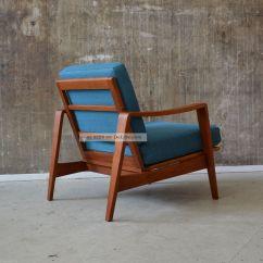 Eames Fiberglass Chair Best Chairs Inc Swivel Rocker Recliner 60er Arne Wahl Iversen Teak Sessel Danish Design 60s Easy Teakwood Komfort