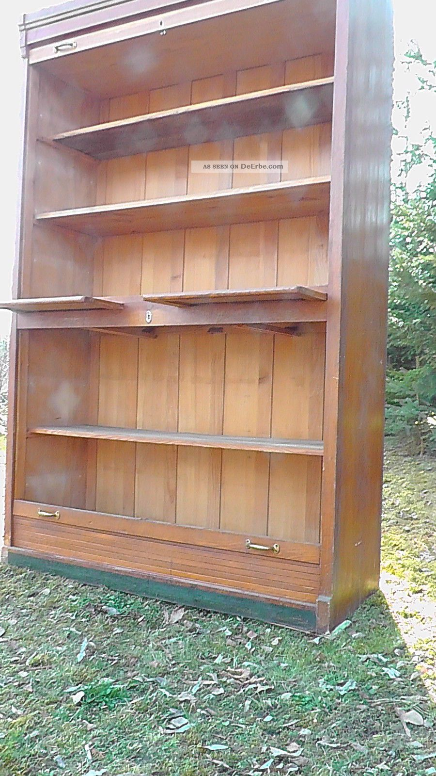 Aktenschrank Holz Antik